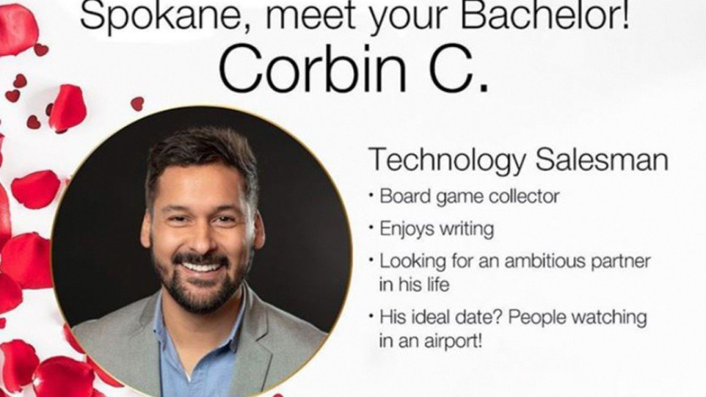 Corbin Cabrera announced as Spokane's Bachelor