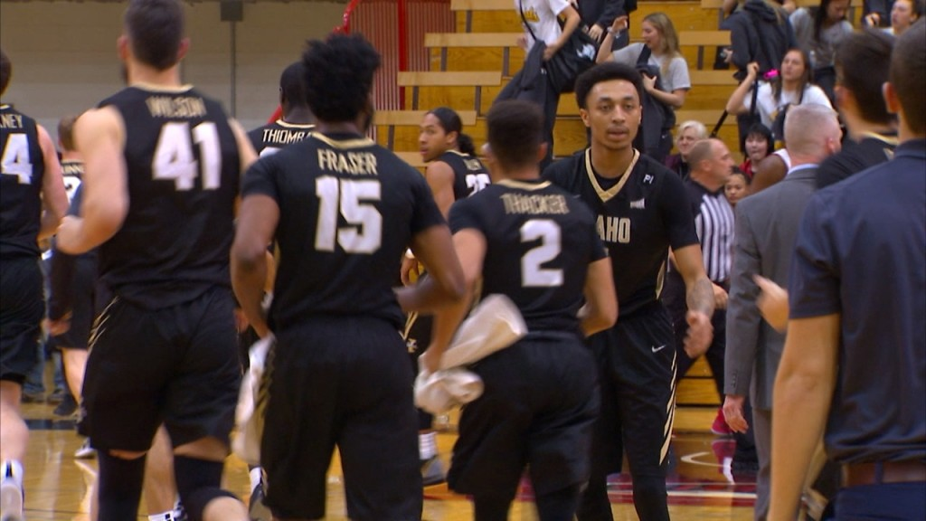 Idaho tops Eastern on the road