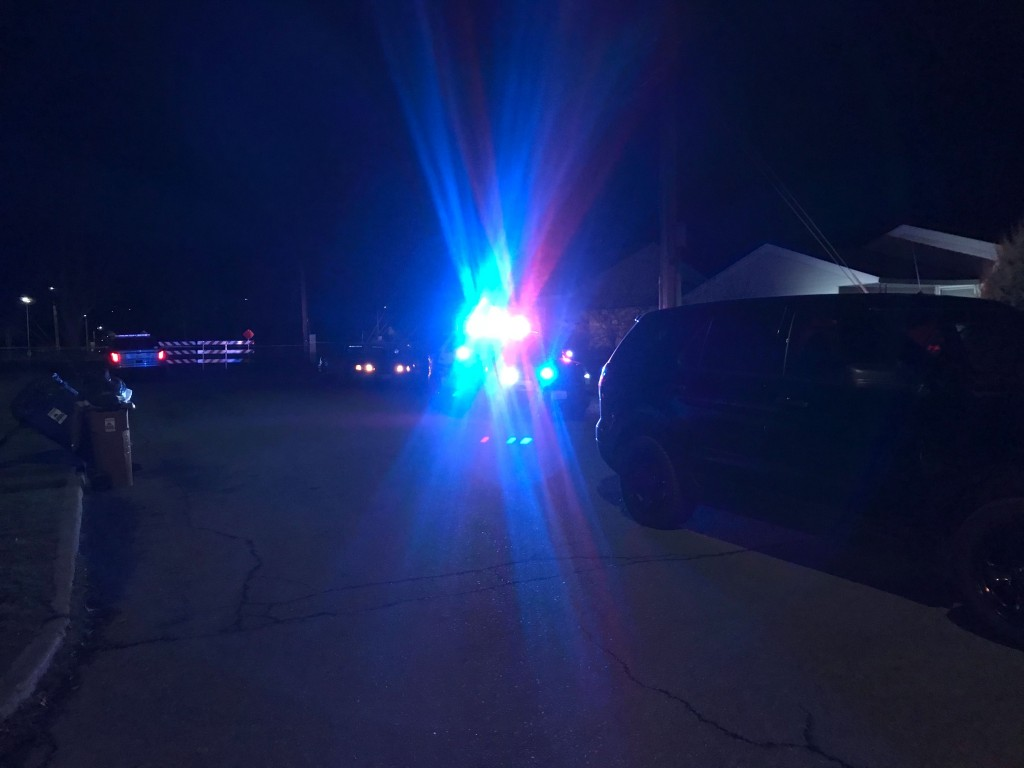 Car chase ends in East central