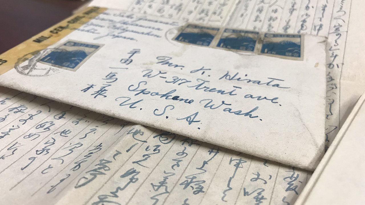 Long lost letters found in Spokane detail one Japanese American family's struggle during WWII - KXLY