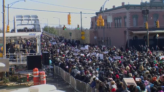 FILE: SELMA CIVIL RIGHTS MARCH ANNIVERSARY BEGINS