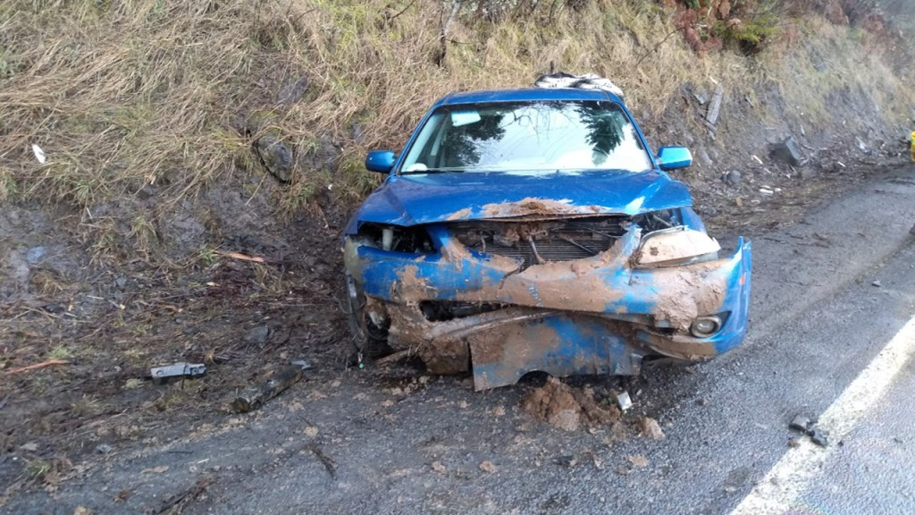 Man crashes car near Orofino
