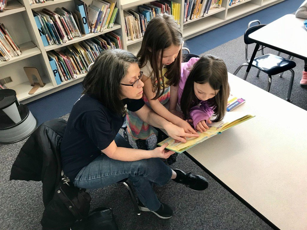 Adult and Child in Spokane County Reading Program