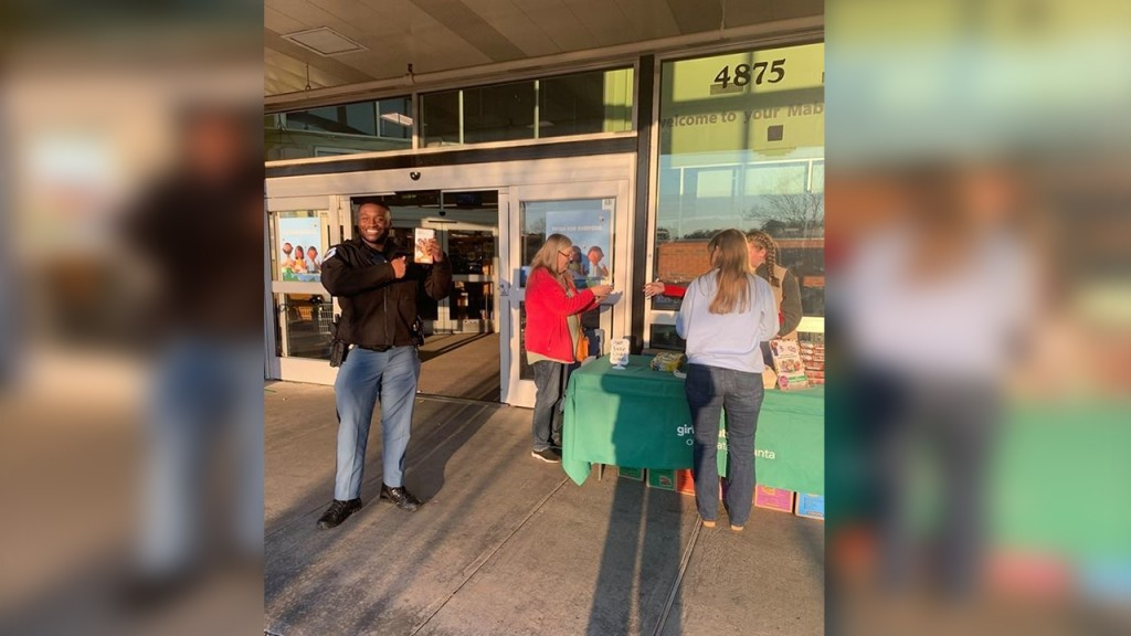 Girl Scout cookies saved by police