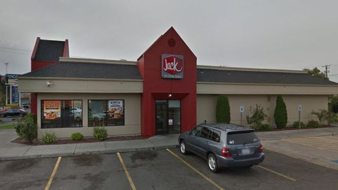 Exterior of Yakima Jack in the Box