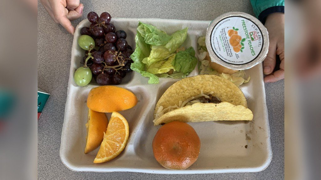 Cheney School Lunch