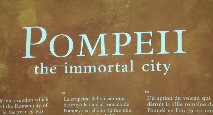 'Pompeii: The Immortal City' exhibit to open Saturday at the MAC
