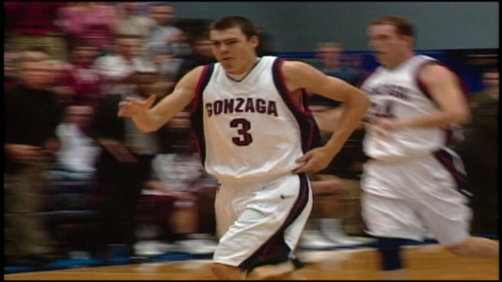 Gonzaga will honor former player Adam Morrison during Thursday's game as they will put his jersey in the rafters