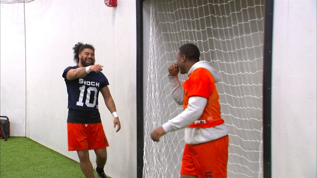The Spokane Shock held their first day of 2020 training camp in Post Falls