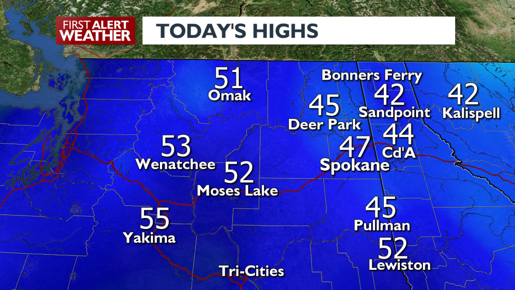 Highs For March 12