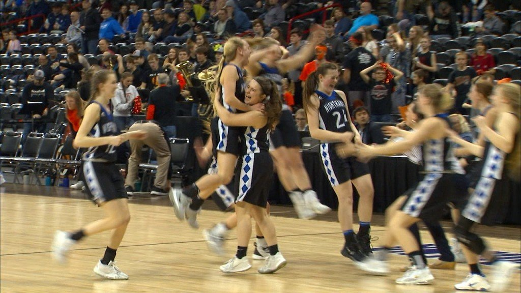 The Oakesdale girls upset No. 1-seeded Pomeroy