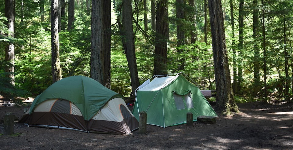 Campgrounds closed