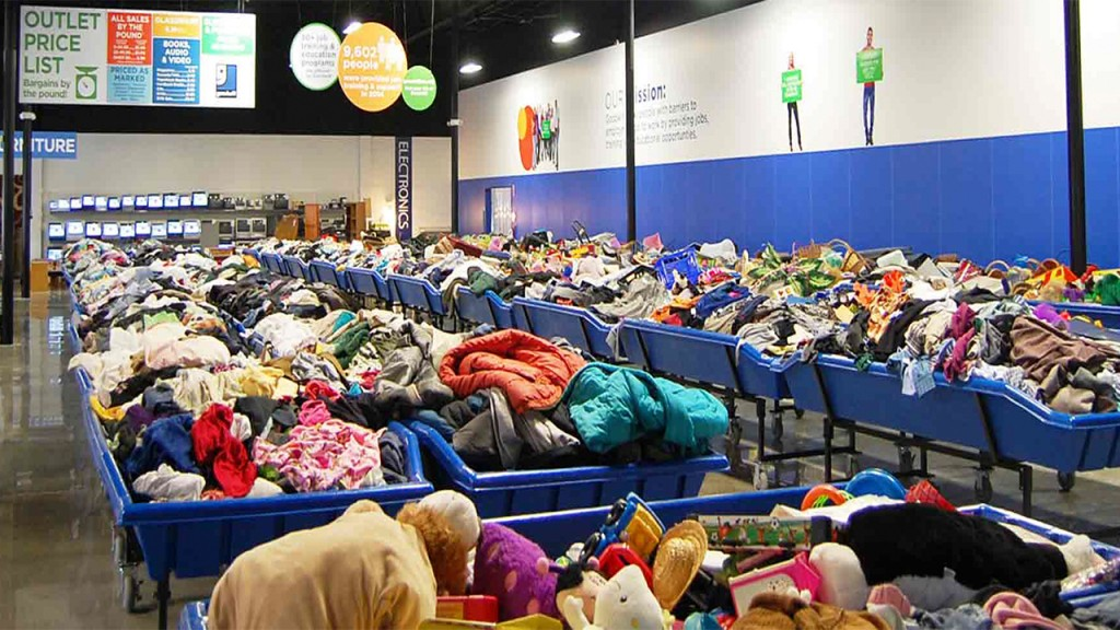 Goodwill asks people to hold donations