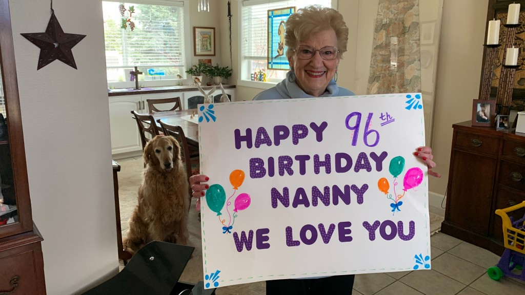 Happy Birthday Nanny