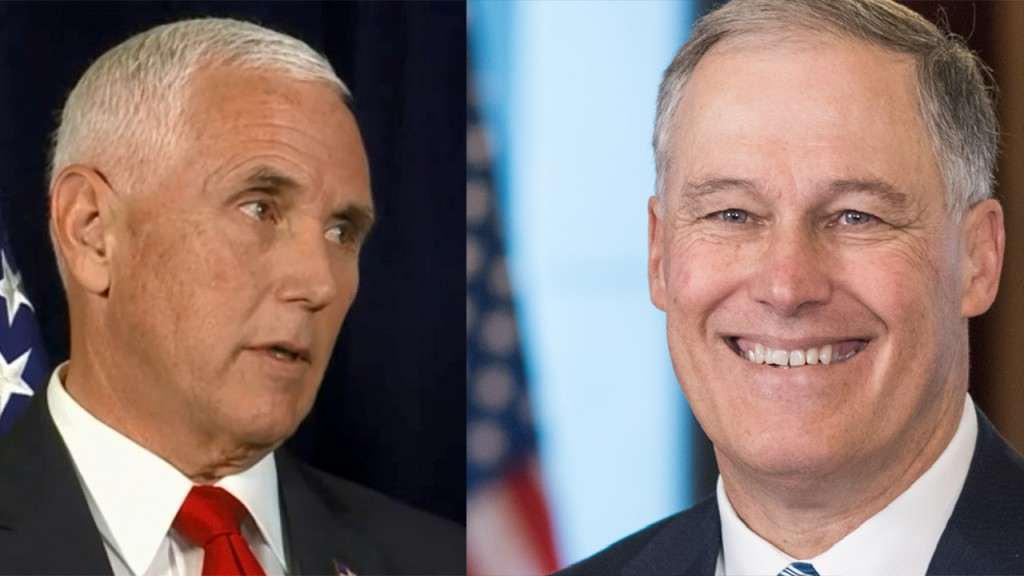 Pence to meet with Jay Inslee