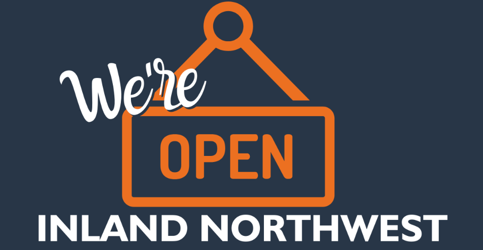 We're Open graphic