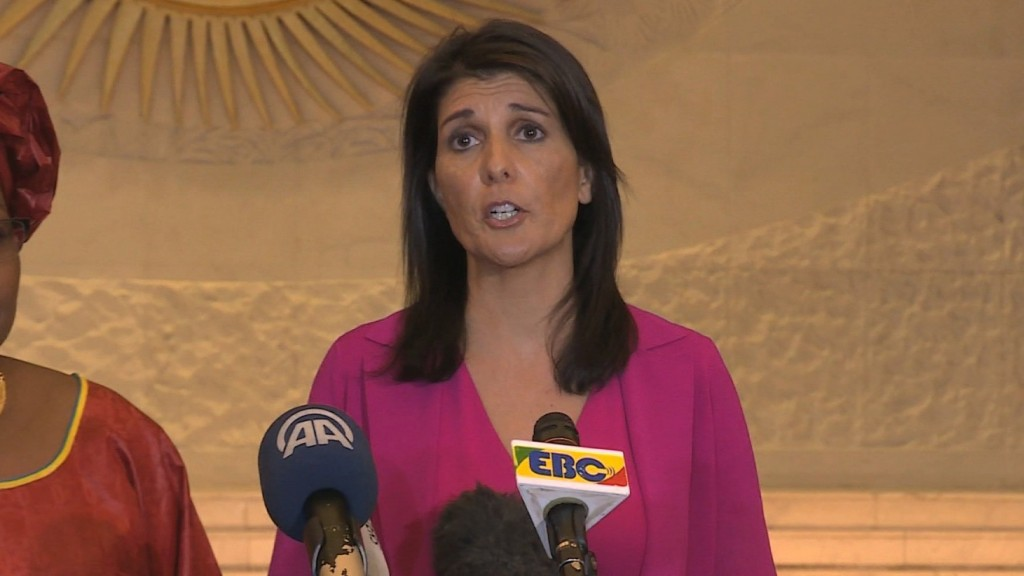 Nikki Haley: 'We will never accept a nuclear North Korea'