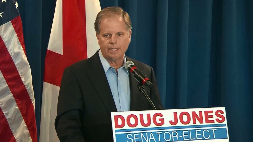 Doug Jones: 'I think we've truly reached a tipping point'