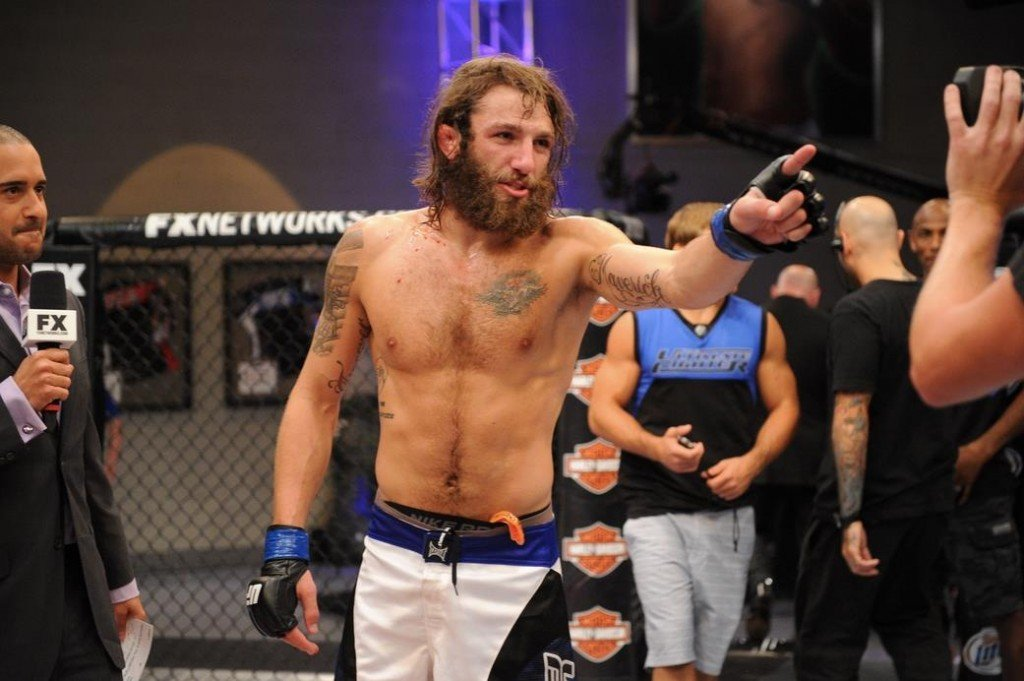 VIDEO:  Mike Chiesa Goes Back To The Cage