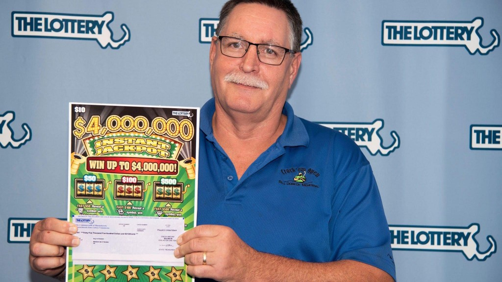 Mass. man wins $1 million in lottery for second time
