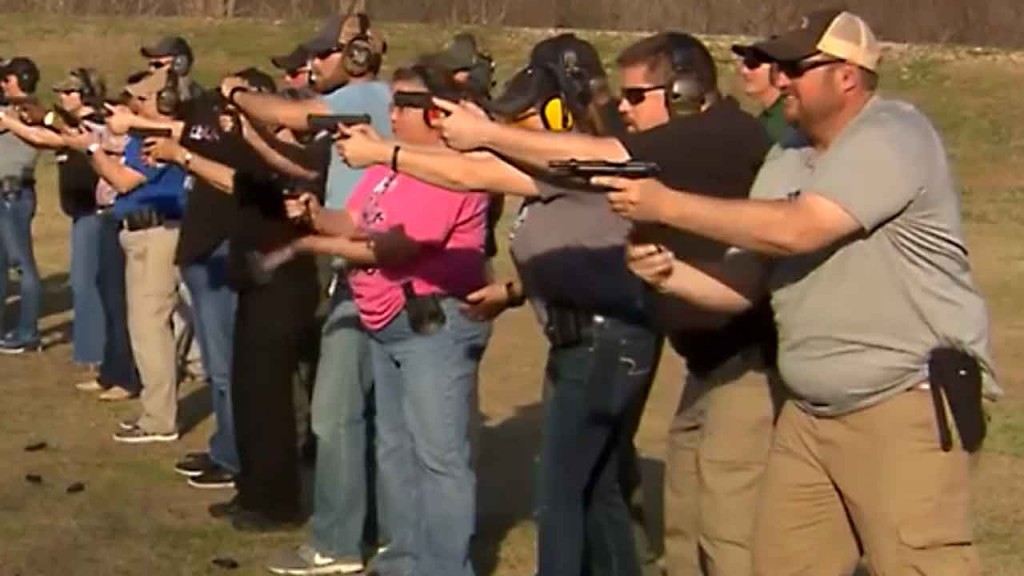 Kansas bill could make schools liable for shootings if they don't arm teachers
