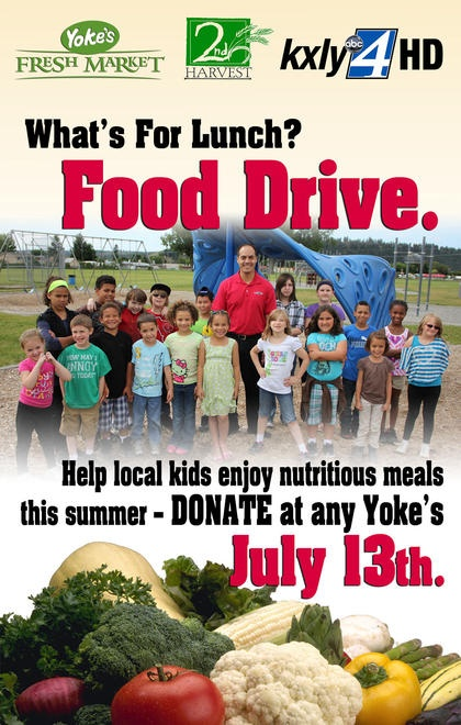 What's For Lunch Food Drive hits Friday