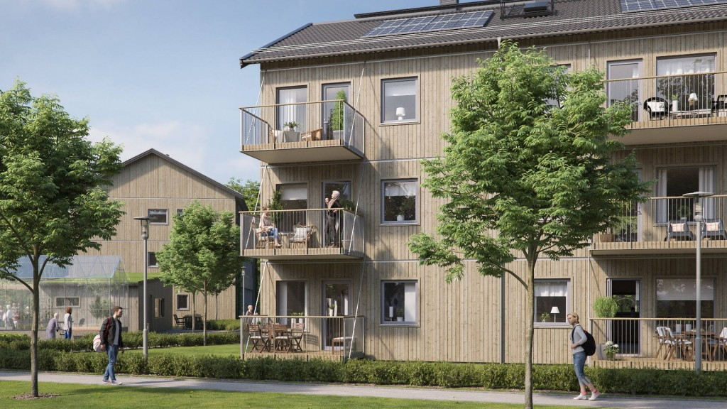 Ikea and Queen of Sweden design homes for people with dementia