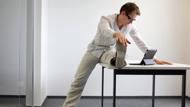 Office exercise: Add more activity to your work day