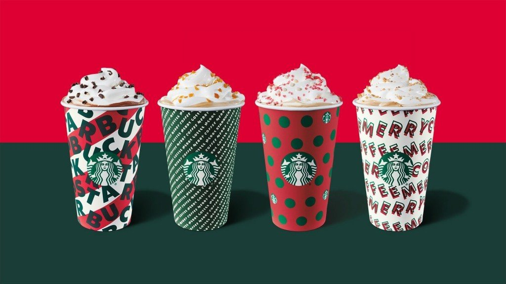 Alaska Airlines: Priority boarding with Starbucks holiday cup