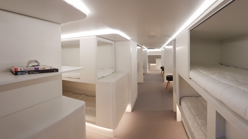 New Airbus beds will let passengers sleep in the cargo hold