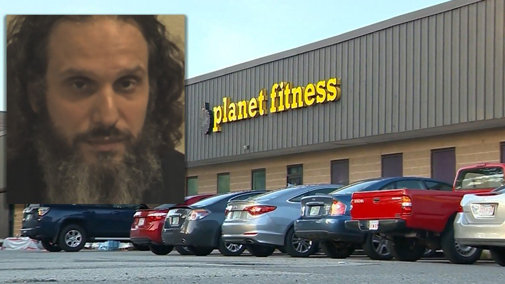 Man arrested for naked workout at Planet Fitness