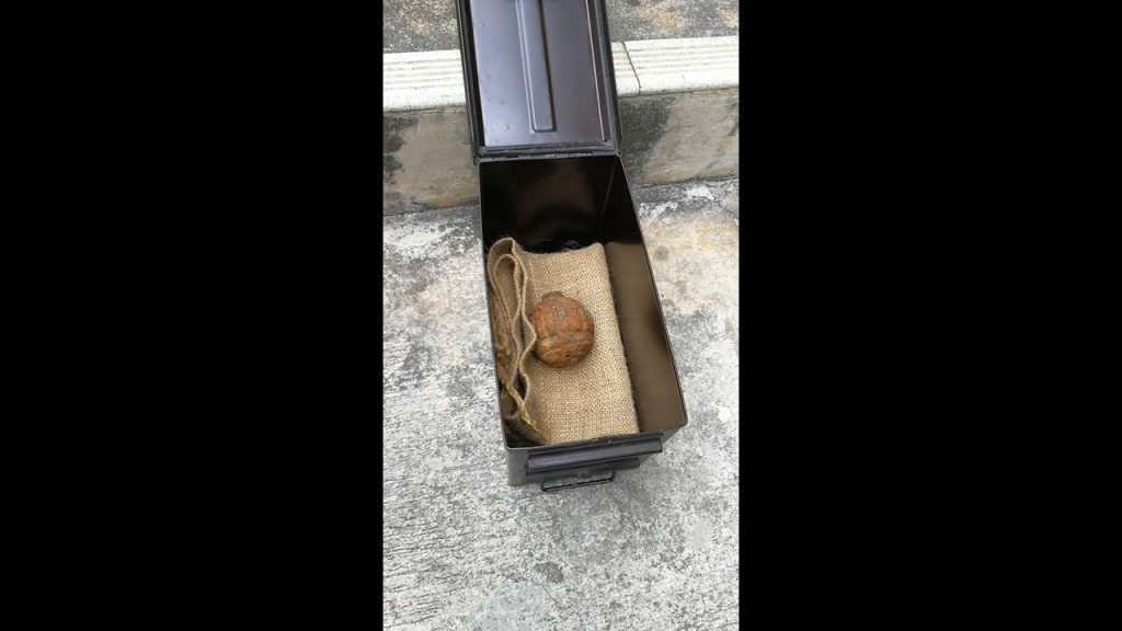 World War I grenade found in shipment of potatoes headed to Hong Kong