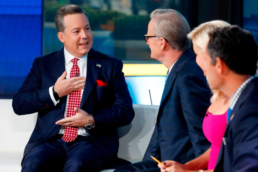 Fox's Ed Henry returns after donating part of his liver to his sister