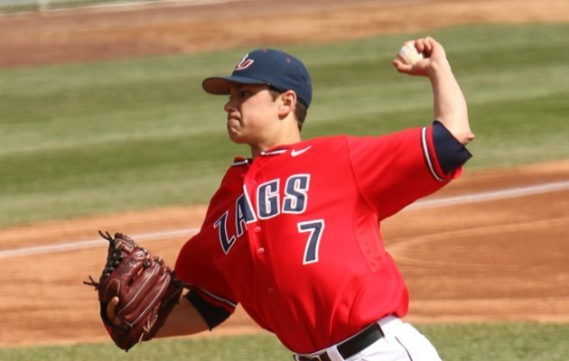 GU's Gonzales named best pitcher