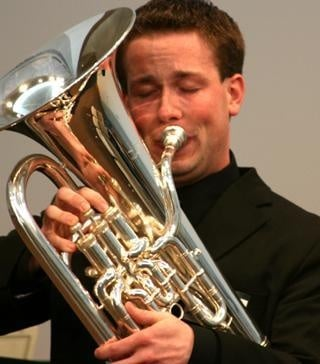 New instructor to showcase his tuba and euphonium at upcoming recital