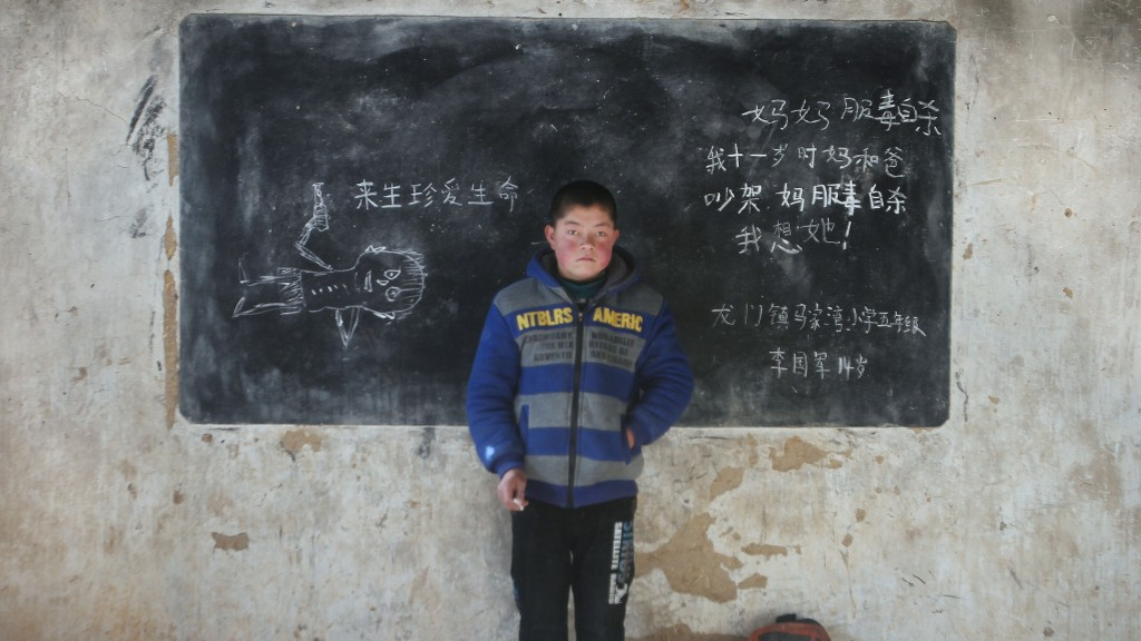 Photographer documents the plight of China's left-behind kids