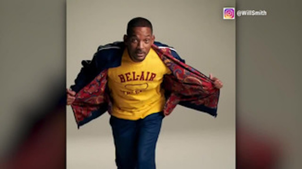 Will Smith introduces 'Fresh Prince'-themed clothing line