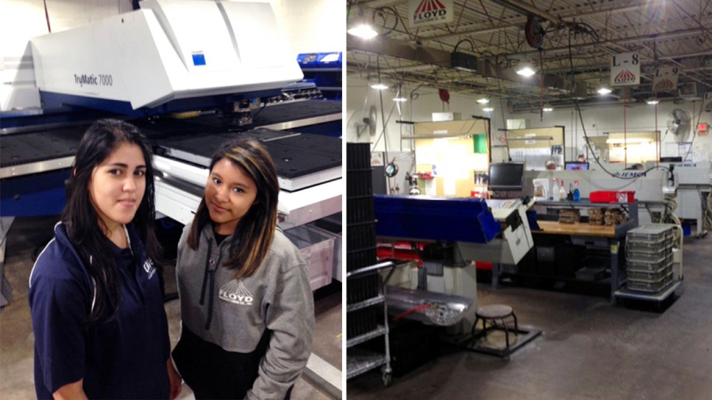 At this manufacturing company, women rule the factory floor