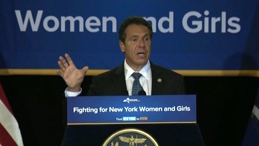 NY Gov. Cuomo says America 'was never that great'