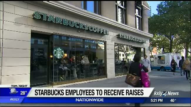 Starbucks gives workers raises, stock grants, cites tax law