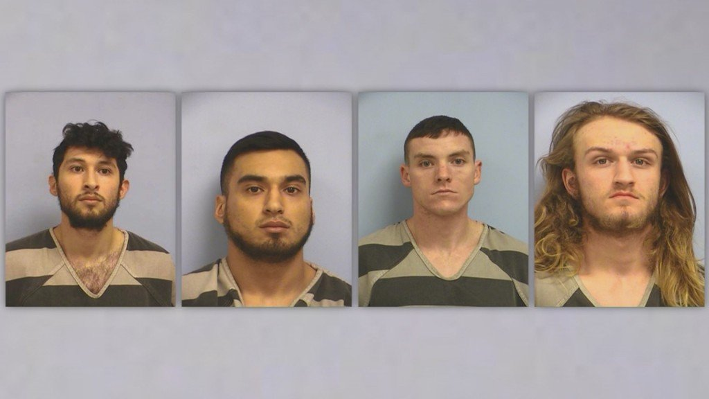 4 men charged in beating of gay couple in Texas