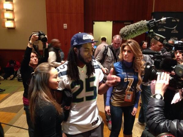 Blogging from SB 48:  recapping Wednesday's media session