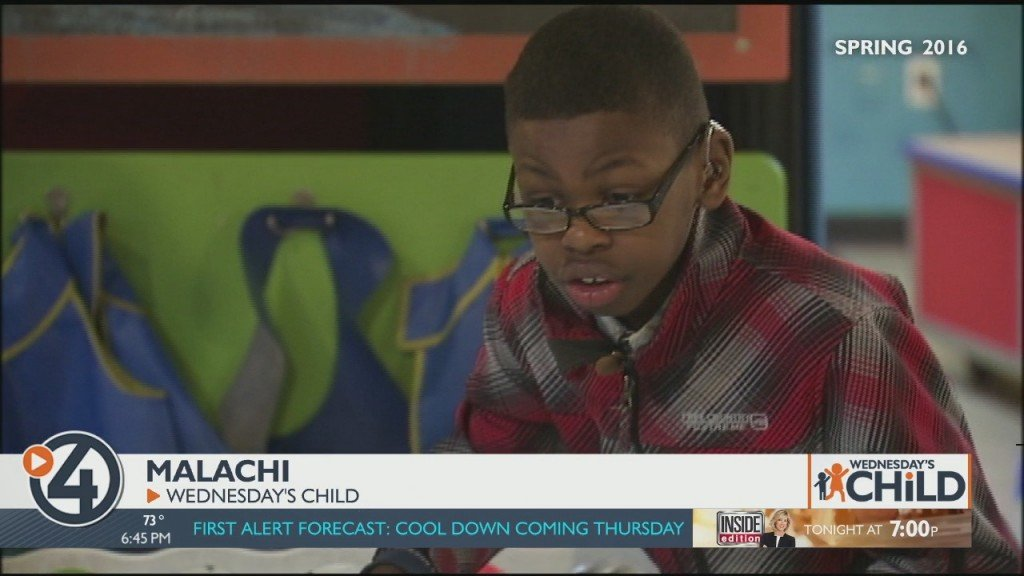 Wednesday's Child: Malachi