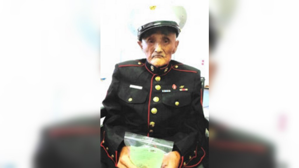 Third Navajo Code Talker within a month dies, only five remain