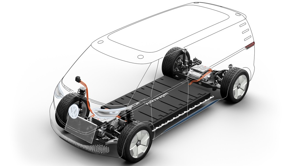 New Volkswagen cargo concept is all-electric