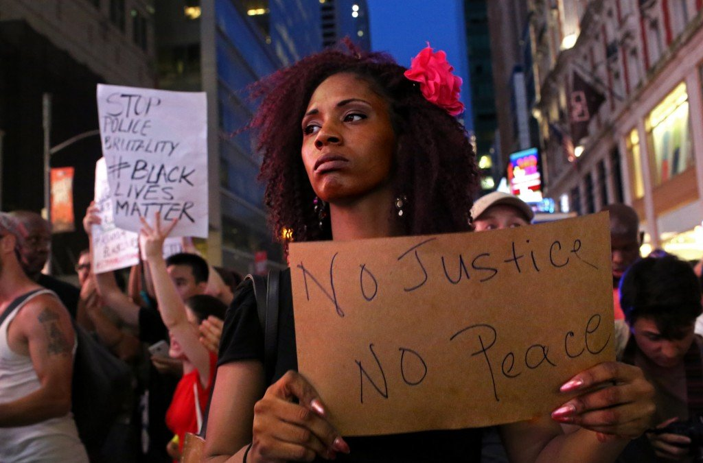 Protests after police shootings