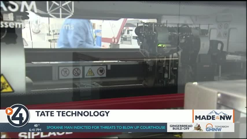 Made in the Northwest: Tate Technology