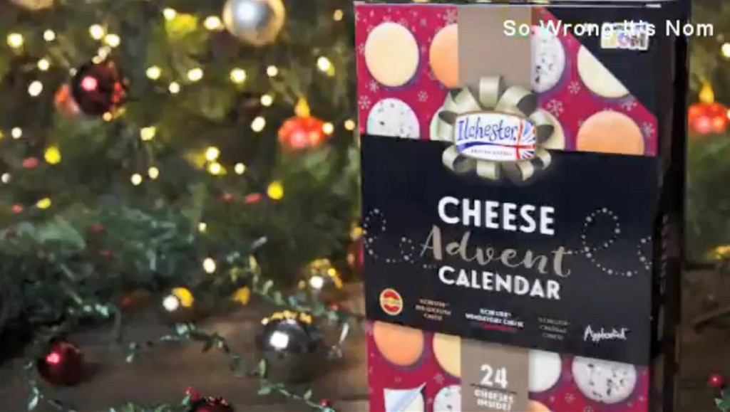 Advent calendar ditches chocolate for cheese