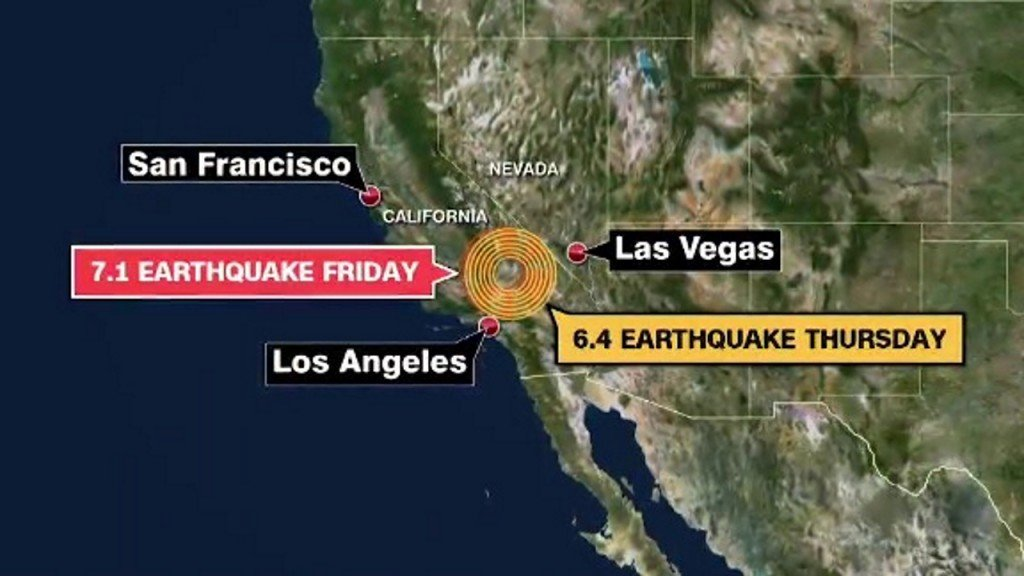 Second earthquake hit Southern California in as many days