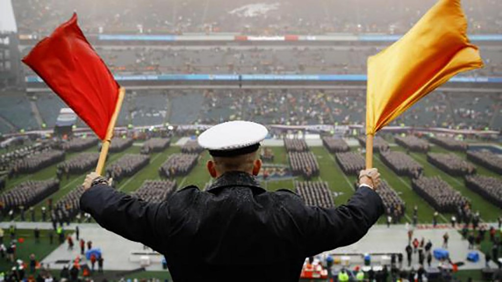 Academies say Army-Navy hand gestures were a game, not racist
